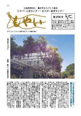 広報もやい206号(2017年6月)